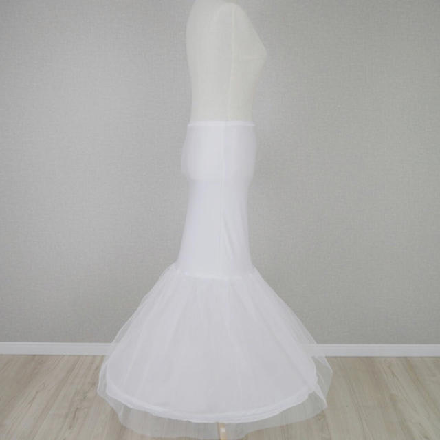 da4036c903d04 ウエディングドレス パニエ マーメイド レディースのフォーマル ドレス(ウェディングドレス)の商品写真