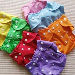 布オムツカバー フリーサイズ 7枚セット(布おむつ)