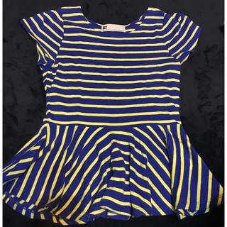 スライ(SLY)のSLY ボーダー フリル Tシャツ(Tシャツ(半袖/袖なし))