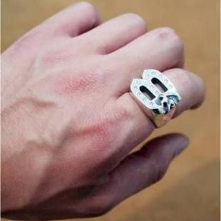 バンクロバー(BANKROBBER)のバンクローバー マジカルデザイン スカルリング 木村拓哉 スターブライトリング(リング(指輪))