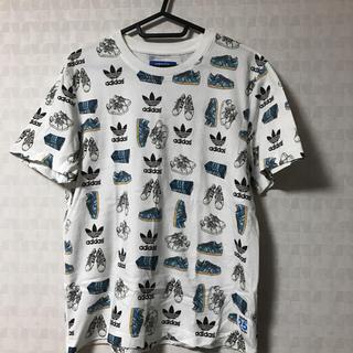 アディダス(adidas)のadidas originals 総柄Tシャツ(Tシャツ/カットソー(半袖/袖なし))