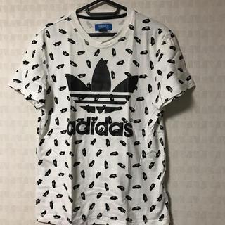 アディダス(adidas)のadidas originals スニーカー柄Tシャツ(Tシャツ/カットソー(半袖/袖なし))