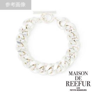 メゾンドリーファー(Maison de Reefur)のMAISON DE REEFUR チェーンブレスレット(ブレスレット/バングル)