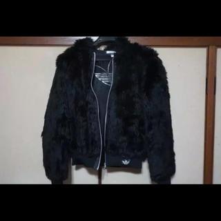アディダス(adidas)のファージャケット(毛皮/ファーコート)