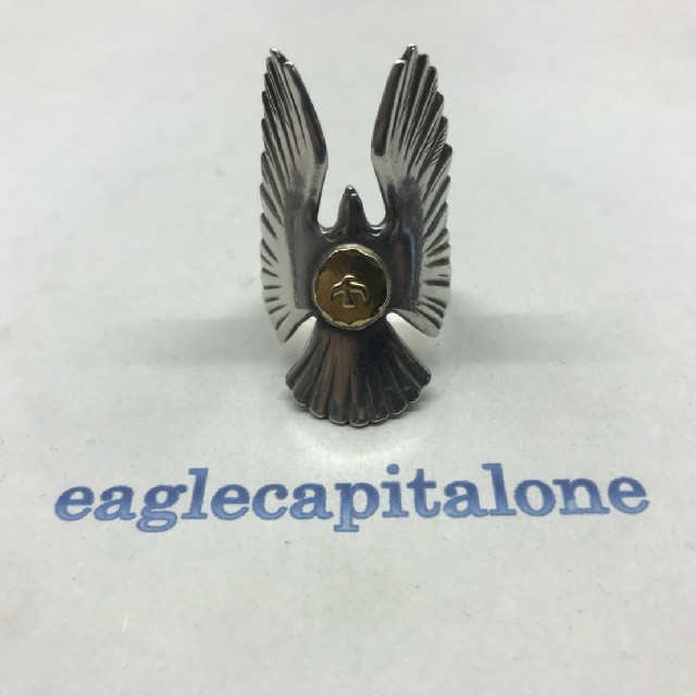 goro's(ゴローズ)のゴローズ 金メタル付イーグルリング 16号 メンズのアクセサリー(リング(指輪))の商品写真
