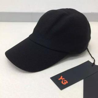 ワイスリー(Y-3)の新品正規品 17AW Y-3 KINT CAP RICK OWENS ブラック(キャップ)