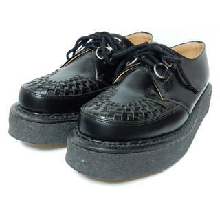 ジョージコックス(GEORGE COX)の美品!名作!【定価¥51840】ジョージコックスUK7ギブソン3588ブラック黒(ブーツ)