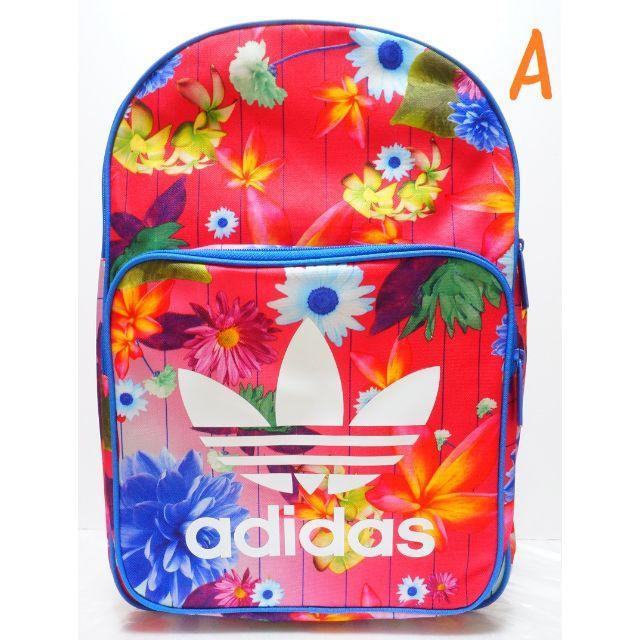 69f7e84f6d65 adidas - 新品 即発送 アディダスオリジナルス 花柄 リュック 大容量 Aの ...