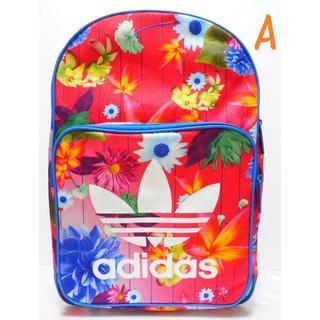 アディダス(adidas)の新品 即発送 アディダスオリジナルス 花柄 リュック 大容量 A(リュック/バックパック)