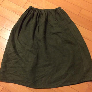 フォグリネンワーク(fog linen work)のフォグリネン    スカート専用(ひざ丈スカート)