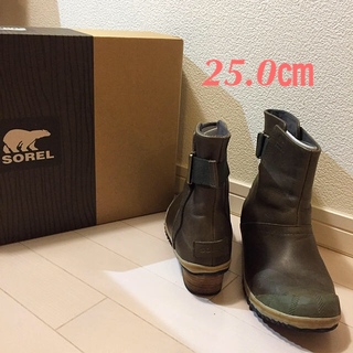 ソレル(SOREL)のSOREL レインブーツ 25.0㎝(レインブーツ/長靴)