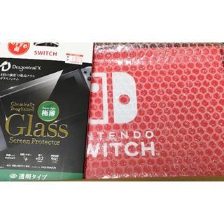 Nintendo Switch 本体 ネオン:イエロー・ピンク ガラスフィルム付(家庭用ゲーム機本体)