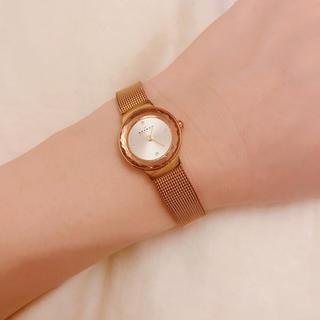スカーゲン(SKAGEN)のお値下げ対応可能 スカーゲン 腕時計 ピンクゴールド(腕時計)