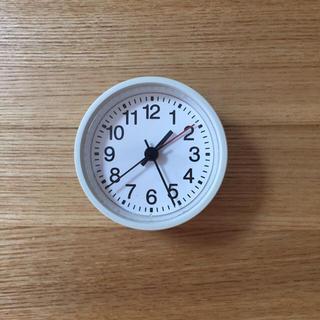 無印 時計 置時計 無印良品 駅の時計 アラームクロック 置き時計