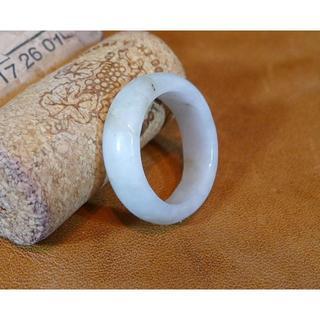 J359 ヒスイ翡翠リング指輪 20号 ジェイド ライトグリーン 送料無料(リング(指輪))