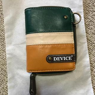 ディバイス(device.)のDEVICE 折財布(折り財布)