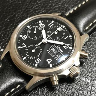 シン(SINN)の☆SINN 356 SA フリーガークロノグラフ 希少 未使用品☆(腕時計(アナログ))