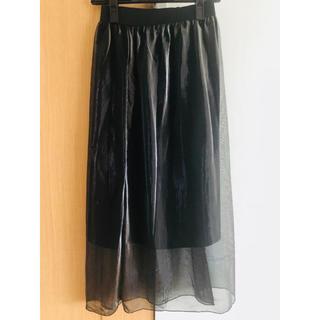 ベルシュカ(Bershka)の●Bershka チュールスカート(ロングスカート)