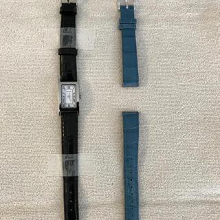 ピエールラニエ(Pierre Lannier)の腕時計 Pierre Lannier ピエールラニエ レクタングル 替えベルト付(腕時計)