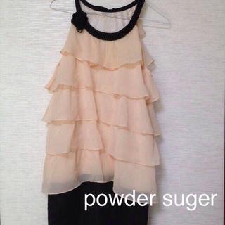 パウダーシュガー(POWDER SUGAR)のpowder sugar ワンピ(その他ドレス)