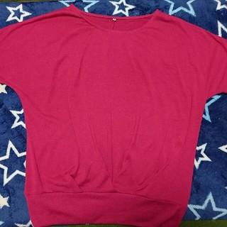 シマムラ(しまむら)のピンク Tシャツ(Tシャツ(半袖/袖なし))