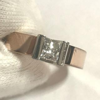 エスカマジー リング 316Lステンレス スワロ製ジルコニア 100763(リング(指輪))