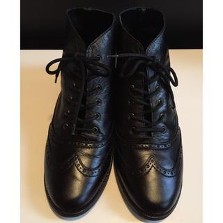 ナンバージュウイチ(n゜11)の【お値下げ!】n°11ウィングチップブーツ(ブーツ)
