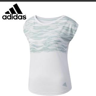 アディダス(adidas)のアディダス ランニング レディース トレーニング カモ柄 半袖 Tシャツ(ウェア)