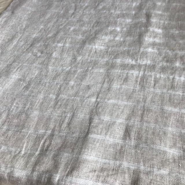 MUJI (無印良品)(ムジルシリョウヒン)の*無印良品 麻 枕カバー* インテリア/住まい/日用品の寝具(シーツ/カバー)の商品写真
