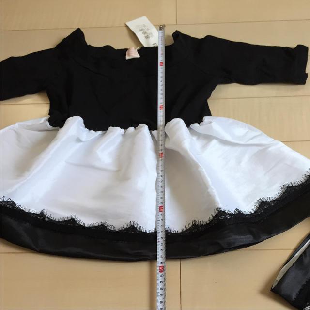 韓国子供服 ワンピース キッズ/ベビー/マタニティのキッズ服 女の子用(90cm~)(ワンピース)の商品写真