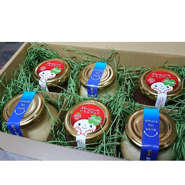 3プリン(3個入)・いちごジュレ(3個入) 食品/飲料/酒の食品(菓子/デザート)の商品写真