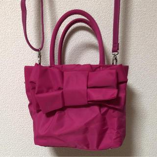 クチュールブローチ(Couture Brooch)のクチュールブローチ♡リボンバッグ(ショルダーバッグ)