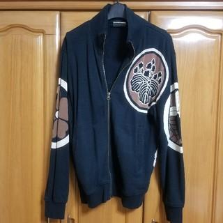 インフィニティ(Infinity)のもこ様専用 和柄 ジャケット ブルゾン インフィニティ ブラック 黒 Mサイズ(ブルゾン)