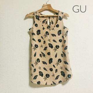 ジーユー(GU)のGU タンクトップ ブラウス(シャツ/ブラウス(半袖/袖なし))