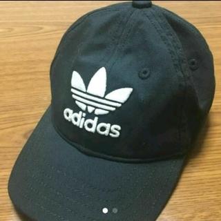 アディダス(adidas)のadidas originals  アディダスオリジナルス  黒 帽子 キャップ(帽子)