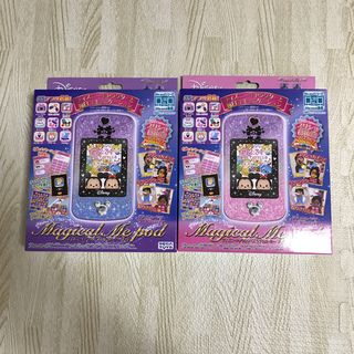 セガ(SEGA)の 新品 Me pod ミーポッド ディズニー おもちゃ ブルー ピンク(キャラクターグッズ)