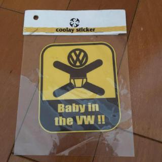 フォルクスワーゲン(Volkswagen)のフォルクスワーゲン baby ステッカー(車外アクセサリ)