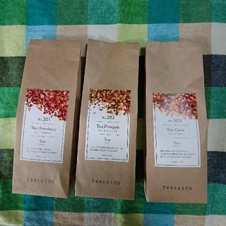 りんりん様専用TEAtrico ティートリコ 50g色々3点セット 食べれる紅茶(茶)