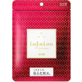 LuLuLun プレシャスRED 7枚入り(乾燥小じわ濃密保湿タイプ)(パック/フェイスマスク)