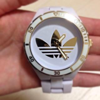 アディダス(adidas)のadidasの白金時計💓(腕時計)