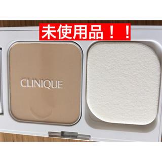 クリニーク(CLINIQUE)の【未使用】クリニーク ファンデーション コンパクト付き(ファンデーション)