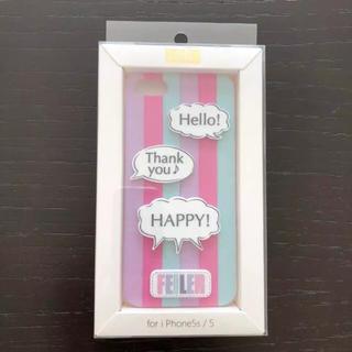 フェイラー(FEILER)のiPhone 5 iPhone5 iPhoneケース フェイラー ハードケース(iPhoneケース)