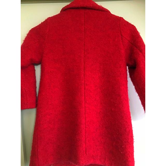 JENNI(ジェニィ)の値下げ110 JENNI ジャケット コート 赤 レッド キッズ/ベビー/マタニティのキッズ服 女の子用(90cm~)(ジャケット/上着)の商品写真