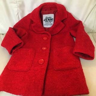 ジェニィ(JENNI)の値下げ110 JENNI ジャケット コート 赤 レッド(ジャケット/上着)