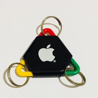 アップル(Apple)のApple Computerトライアングルキータグキーホルダー非売品(ノベルティグッズ)