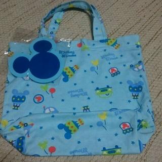 ディズニー(Disney)の550円 → 480円 新品タグ付き ディズニー ミッキー 布バッグ(体操着入れ)