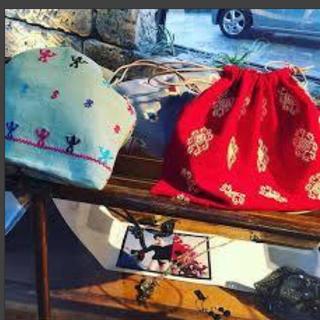 ビューティアンドユースユナイテッドアローズ(BEAUTY&YOUTH UNITED ARROWS)のcharrita 巾着バッグ(バッグ)