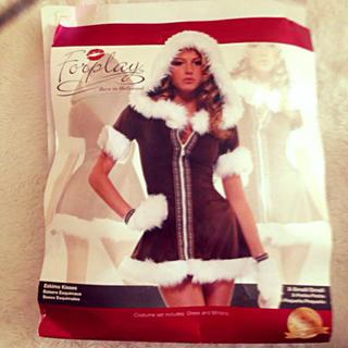 レッグアベニュー(Leg Avenue)の値下!フォープレイ コスプレ Christmas(衣装一式)