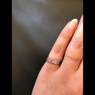 ピンクサファイア 5(リング(指輪))