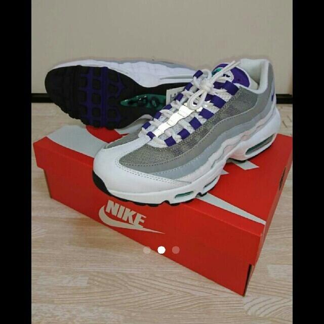 NIKE(ナイキ)のエアマックス95 グレープ レディースの靴/シューズ(スニーカー)の商品写真